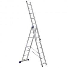 Лестница алюмин. трехсекц. 8ступ. LS308