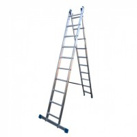 Лестница алюмин. двухсекц. 10ступ. LS210