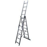 Лестница алюмин. трехсекц. 7ступ. LS307