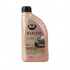 Антифриз (готовый) красный Turbo Kuler 1л