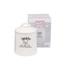 Банка для сыпучих прод. керам.  Tea  625мл HC21A29-T 232277